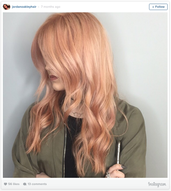 Rose Gold Hair Is The Hottest Summer Beauty Trend